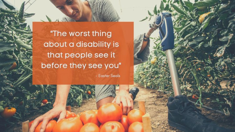 It's dignity, not just a welfare measure which is needed for PWD