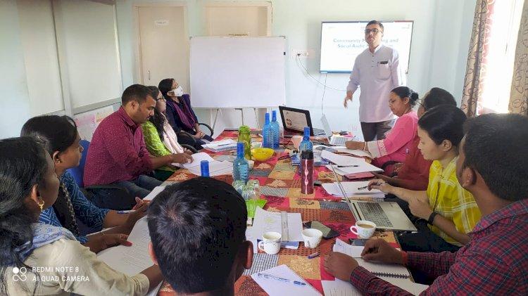 GRAAM and JHPIEGO partner to demonstrate community led monitoring mechanism and establishment of Jan Arogya Samitis (JAS)
