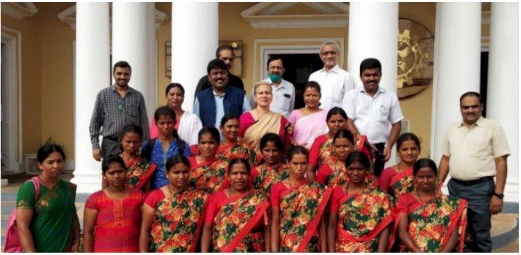 A GRAAM organised Capacity Building Workshop at CFTRI for Women's Self Help Group driven Social Enterprise