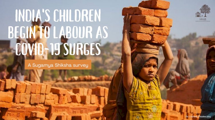 India's children labour as COVID 19 surges: A Sugmya Shiksha survey