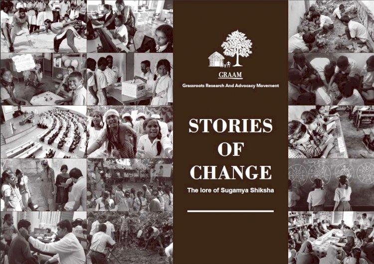 GRAAM publishes 'Stories of Change' from within the Sugamya Shiksha program.